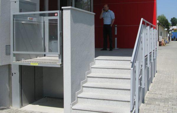 Plataforma vertical hasta 4 metros